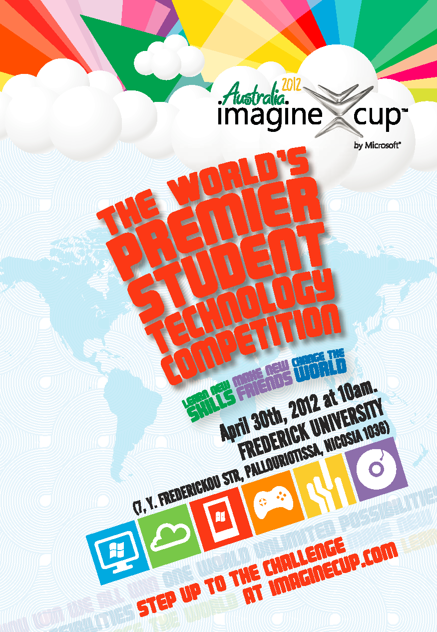30 April 2012, 10:00, Cyprus 2nd Imagine Cup Finals, Frederick University