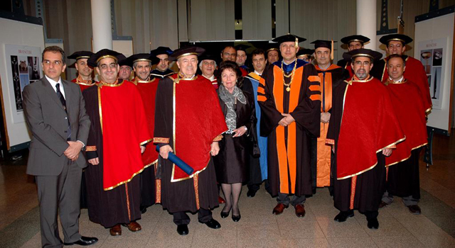 Ceremony for the Award of an Honorary Doctorate to Dr. Andrew Viterbi, March 5, 2010