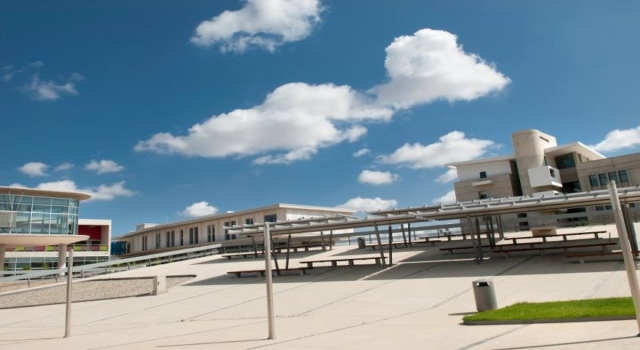 University of Cyprus, New Campus, Courtyard